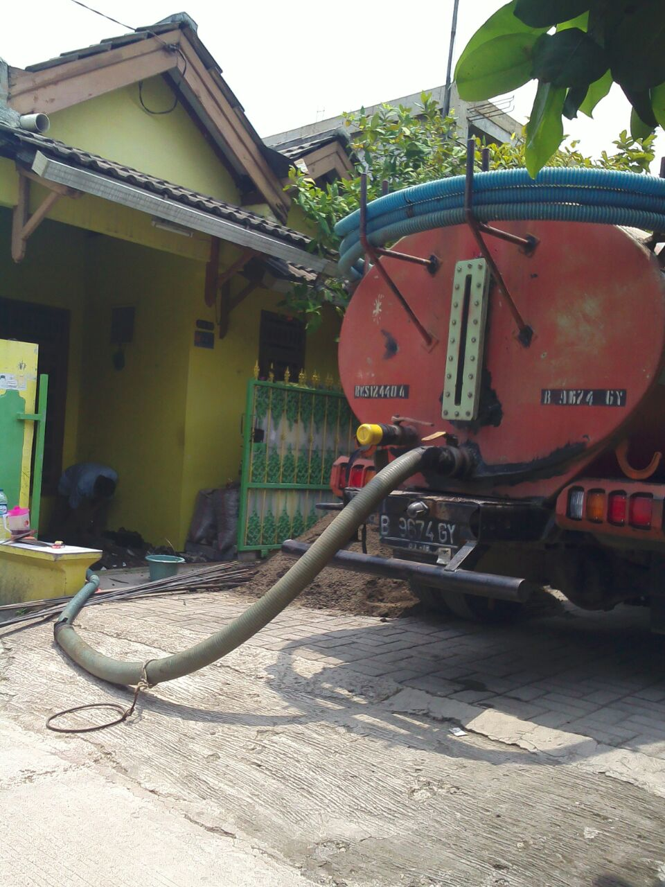 Sedot WC Bekasi Rawa Lumbu Telp.0821 1119 9500 / 021 8242 3739
